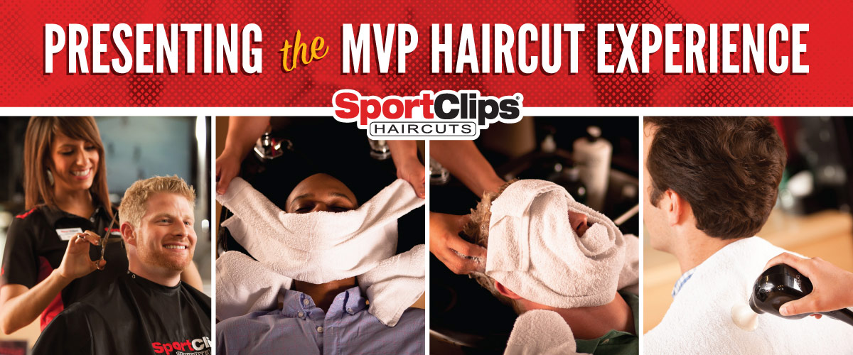 The Sport Clips Haircuts of Brooks City Base Landing MVP Haircut Experience