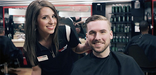 Sport Clips Haircuts of Brooks City Base Landing​ stylist hair cut